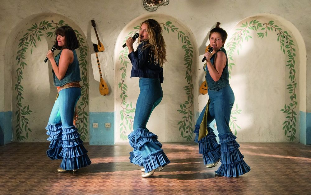 Mamma Mia! Here we go again Donna and the Dynamos Lily James
