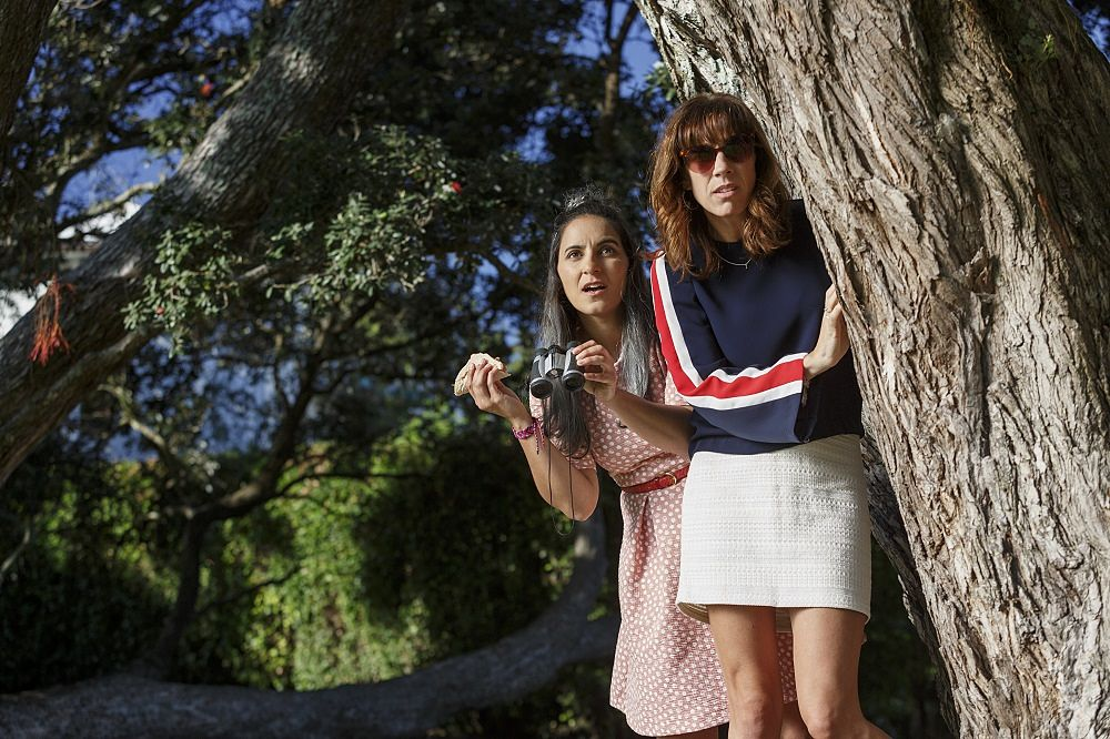 Jackie van Beek and Madeline Sami in The Breaker Upperers